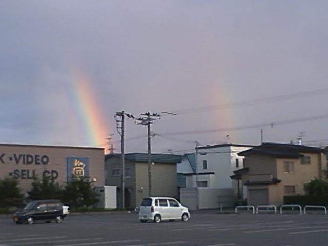 ちょびっとの虹