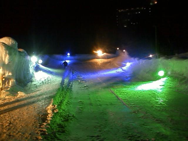 2010層雲峡氷爆祭り