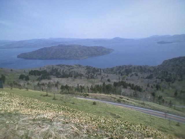屈斜路湖とコタンの湯
